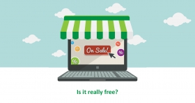 "Is your free Shopping Cart software really ""free""?"