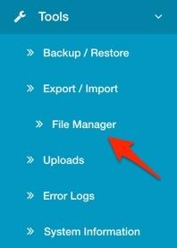 Arastta File Manager
